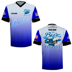Blue Bullets Contingency V-Neck