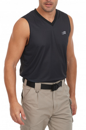 Sleeveless V-Neck Men