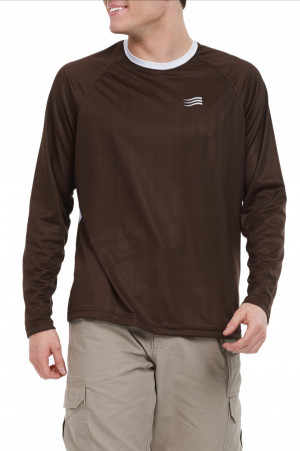 Solartech Crew Long Sleeve Men