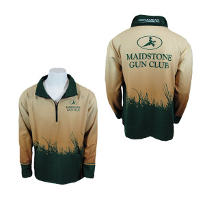 Maidstone Gun Club Pullover Zip Fleece