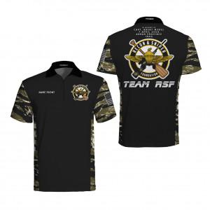 Team RSF Tigerstripe Premier Polo