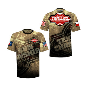 2018 Texas 3-Gun Crew-Neck