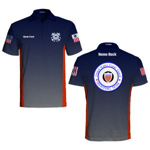 US Coast Guard Shooting Team Premier Polo
