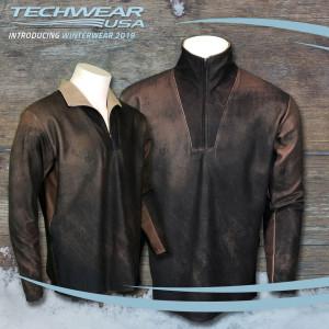 """Leather"" Protech Fleece"