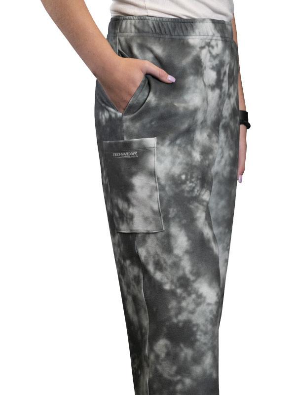 Grey Tie Dye